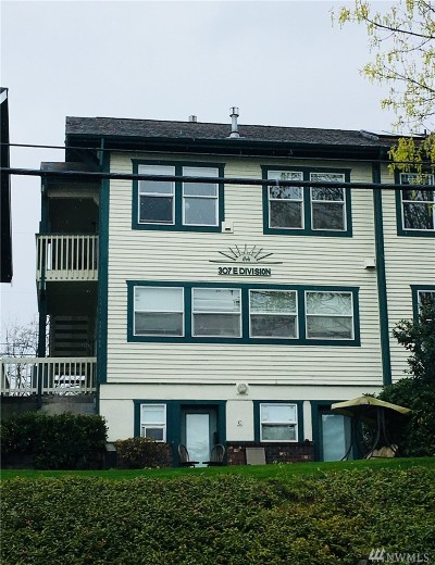 Skagit County Condo/Townhouse For Sale: 307 E Division St #E