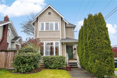 King County Single Family Home For Sale: 3201 Walnut Ave SW