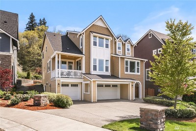 Sammamish Single Family Home For Sale: 3872 201st Ct SE