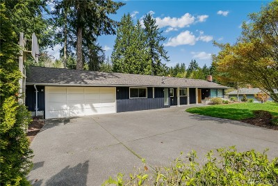 Bellevue Single Family Home For Sale: 16406 SE 35th St