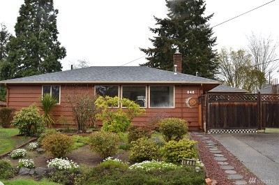 Seattle Single Family Home For Sale: 848 SW 127th St