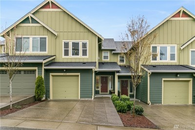 Issaquah Single Family Home For Sale: 2539 Mulberry Walk NE