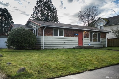 Tacoma Single Family Home For Sale: 6213 S K St
