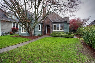 Tacoma Single Family Home For Sale: 3715 N 36th St