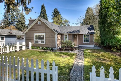 Seattle Single Family Home For Sale: 10340 39th Ave NE
