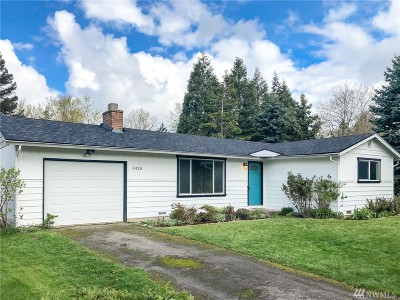 Bellingham Single Family Home For Sale: 3428 Cottonwood Ave