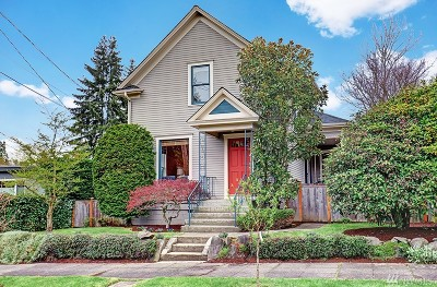 Seattle Single Family Home For Sale: 714 N 72nd St
