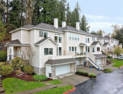 Bothell Condo/Townhouse For Sale: 9820 NE Riverbend Dr #D101