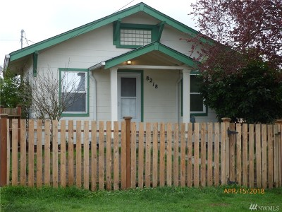 Tacoma Single Family Home For Sale: 8218 S Bell St