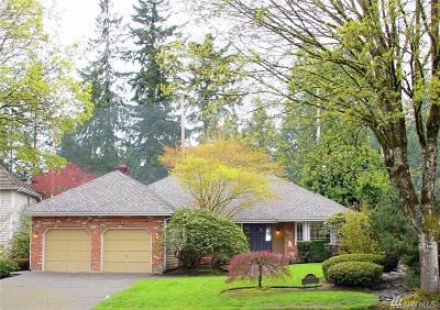 Redmond Single Family Home For Sale: 14029 NE 61st St