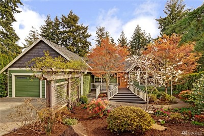 Kenmore Single Family Home For Sale: 18822 66th Ave NE