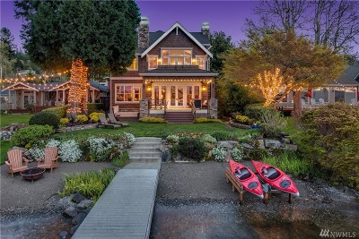 Sammamish WA Single Family Home Pending: $3,898,000
