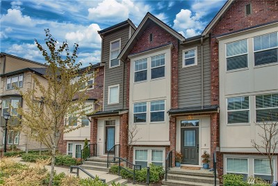 Issaquah Condo/Townhouse For Sale: 1313 Greenwich Walk NE