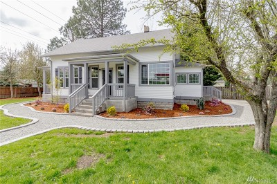 Tacoma Single Family Home For Sale: 9814 Golden Given Rd E