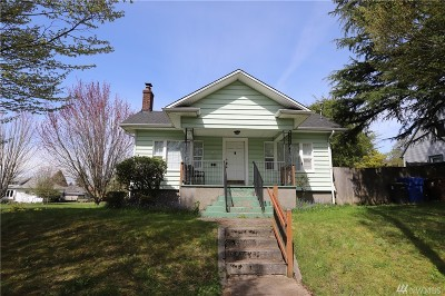 Tacoma Single Family Home For Sale: 521 S 48th St