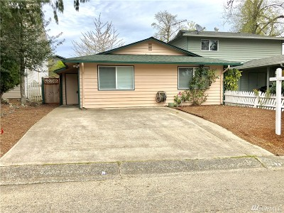 Auburn WA Single Family Home For Sale: $285,000
