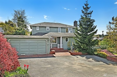 Seattle Single Family Home For Sale: 2147 NW 95th St
