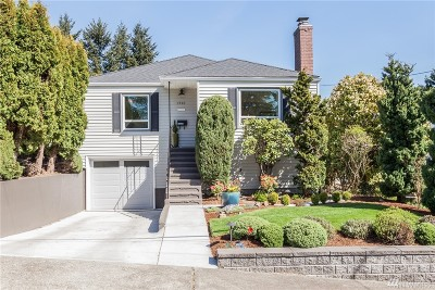 Seattle Single Family Home For Sale: 1720 89th Street