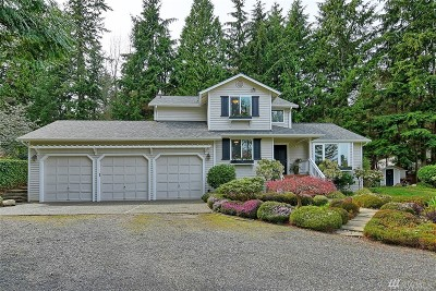 Bothell Single Family Home For Sale: 4614 196th St SE