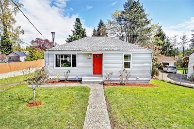 Burien Single Family Home For Sale: 13736 10th Ave SW