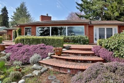 Clinton WA Single Family Home For Sale: $595,000