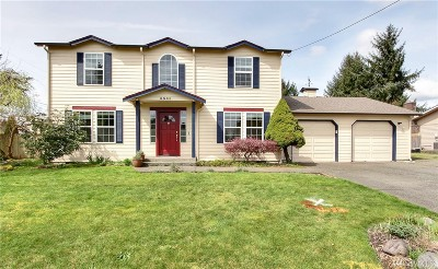 Olympia Single Family Home For Sale: 6543 Sarazen St SE