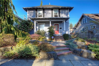 Tacoma Single Family Home For Sale: 1516 N Anderson St