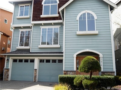 Bothell Single Family Home For Sale: 17818 20th Ave SE #38