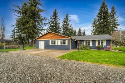 Enumclaw Single Family Home For Sale: 43815 284th Ave SE