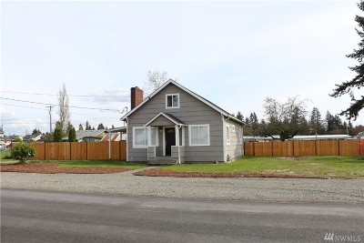 Pierce County Single Family Home For Sale: 114 167th St S