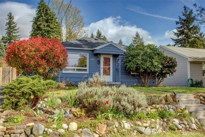 Seattle Single Family Home For Sale: 11326 14th Ave NE