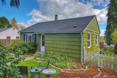 Seattle Single Family Home For Sale: 9710 35th Ave SW