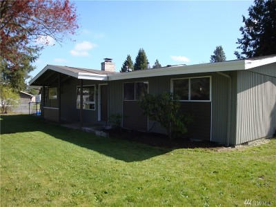 Tacoma Single Family Home For Sale: 14001 Golden Given Rd E