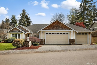 Gig Harbor Single Family Home For Sale: 11911 12th Av Ct NW