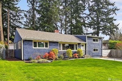 Shoreline Single Family Home For Sale: 1850 N 190th St