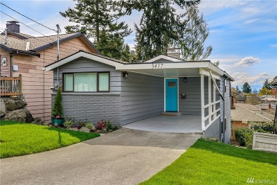 Seattle Single Family Home For Sale: 3417 39th Ave W