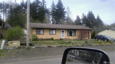Shelton WA Single Family Home For Sale: $195,000