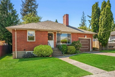 Seattle Single Family Home For Sale: 8811 37th Ave SW