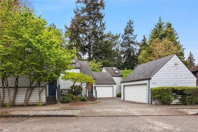 Seattle Single Family Home For Sale: 9165 45th Ave SW #5