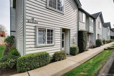 Mountlake Terrace Condo/Townhouse For Sale: 21305 50th Ave W #B1