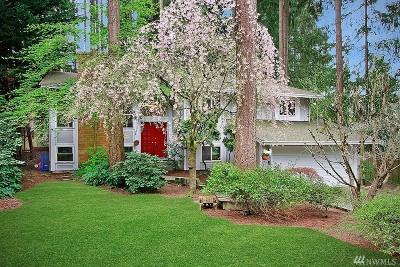 Redmond Single Family Home For Sale: 16719 NE 103 Place