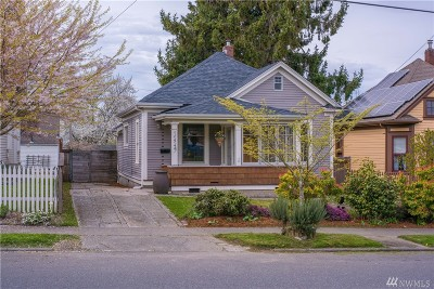 Bellingham Single Family Home For Sale: 1449 Humboldt St