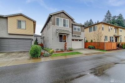 Bothell Single Family Home For Sale: 3524 177th Place SE #1018