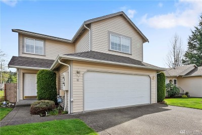 Puyallup WA Condo/Townhouse For Sale: $269,950