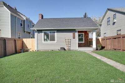 Tacoma Single Family Home For Sale: 1712 S Fife St