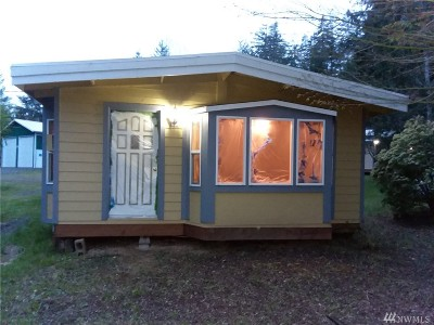 Shelton WA Single Family Home For Sale: $159,000