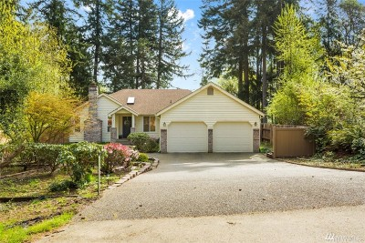 Gig Harbor Single Family Home For Sale: 11811 10th Ave NW