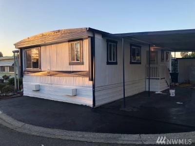 Auburn WA Mobile Home For Sale: $55,000