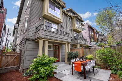 Seattle Single Family Home For Sale: 3624 Palatine Ave N #A