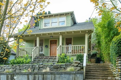 Seattle Single Family Home For Sale: 719 N 61st St